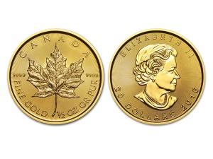 2016加拿大楓葉金幣0.5盎司