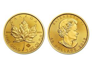 2016加拿大楓葉金幣1盎司