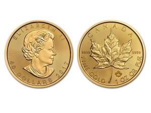 2017加拿大楓葉金幣1盎司