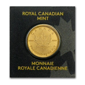 2018加拿大楓葉金幣1公克(封卡)