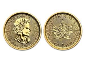 2018加拿大楓葉金幣0.05盎司