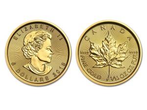 2018加拿大楓葉金幣0.1盎司