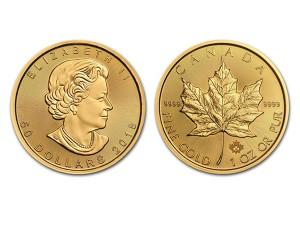 2018加拿大楓葉金幣1盎司