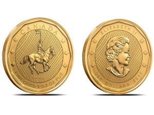 2011加拿大皇家騎警金幣1盎司PCGS