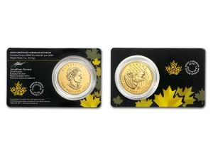 2014加拿大灰狼.99999金幣1盎司(原廠封卡)