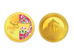 2009中國澳門生肖牛年紀念金幣0.25盎司