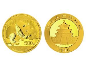 2016中國熊貓金幣30克