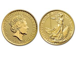 2017大不列顛金幣1盎司30週年紀念版