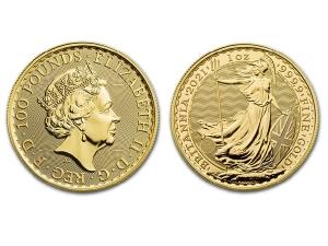 2021大不列顛金幣1盎司