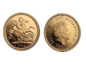 2018大不列顛君主精鑄金幣