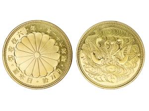 1986日本国御在位六十年纪念拾萬円金幣