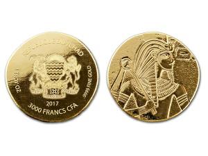 2017古埃及法老 - 圖坦卡門金幣1盎司