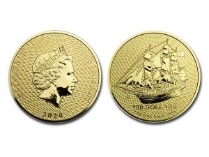 2020庫克群島金幣1盎司