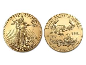 2013美國鷹揚金幣1盎司