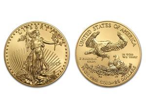 2017美國鷹揚金幣0.5盎司