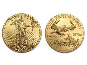 2017美國鷹揚金幣1盎司