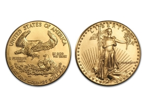 1987美國鷹揚金幣0.5盎司