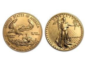 1987美國鷹揚金幣1盎司 (MCMLXXXVII)
