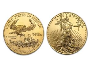 2009美國鷹揚金幣1盎司
