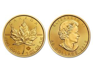 2015加拿大楓葉金幣1盎司