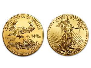 2015美國鷹揚金幣1盎司