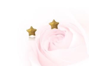黃金星星耳環