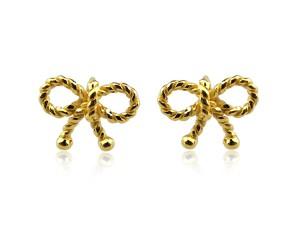 黃金耳環蝴蝶結