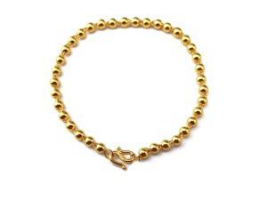 黃金珠珠手鍊