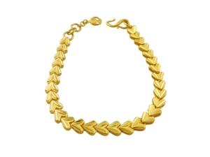 黃金愛心手鍊