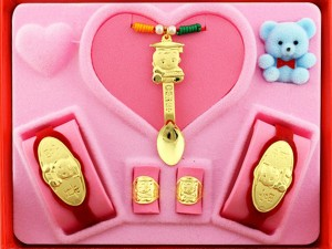 彌月禮盒0.5錢-金湯匙