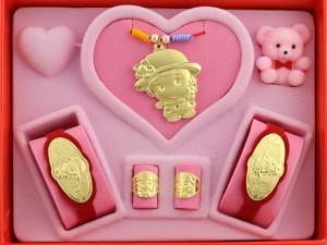 彌月禮盒0.5錢-小公主