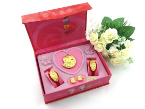 黃金滿月禮盒-彌月誌喜