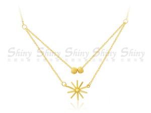 太陽花項鍊