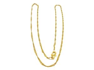 黃金水波項鍊