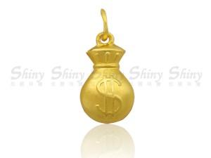 黃金墜飾-錢袋