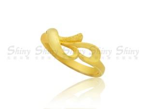 花語-黃金戒指