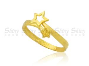 星星-黃金尾戒