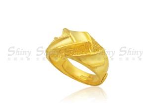 黃金對戒 -女款