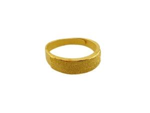 黃金鑽砂戒指