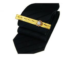 黃金領帶夾