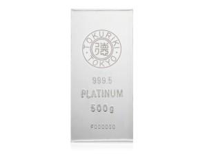 Tokuriki日本鉑金條500克