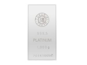 Tokuriki日本鉑金條1公斤