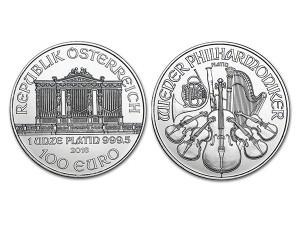 2016奧地利愛樂鉑金幣1盎司