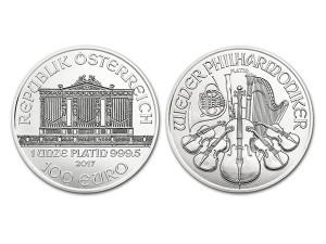2017奧地利愛樂鉑金幣1盎司