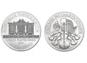 2018奧地利愛樂鉑金幣1盎司