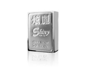 炫麗銀磚50盎司精裝版(.999)