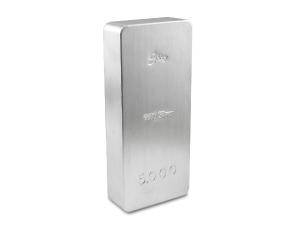 炫麗銀磚5公斤平裝版(.9999)