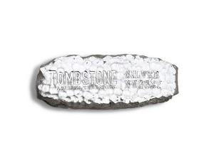 Scottsdale Tombstone 銀塊10盎司