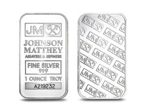 Johnson銀條1盎司