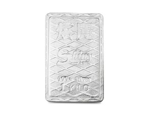炫麗銀磚1公斤精裝菱格版(.999)